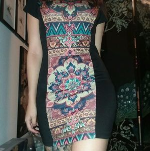 Mandala Bodycon Dress